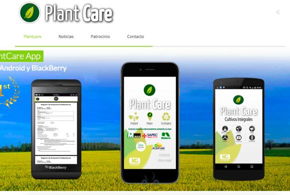 PlantCare Estrena página WEB